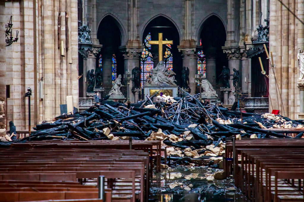What Was Lost And Saved From The Notre Dame Fire