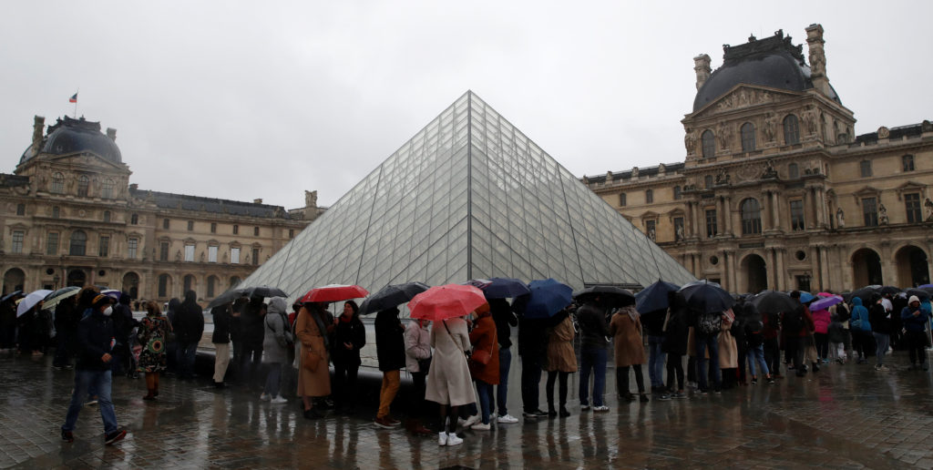 Virus spreads to over 60 countries; France closes the Louvre | PBS ...