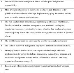 Investigating Classroom Management in Public High Schools in the UAE Semantic Scholar