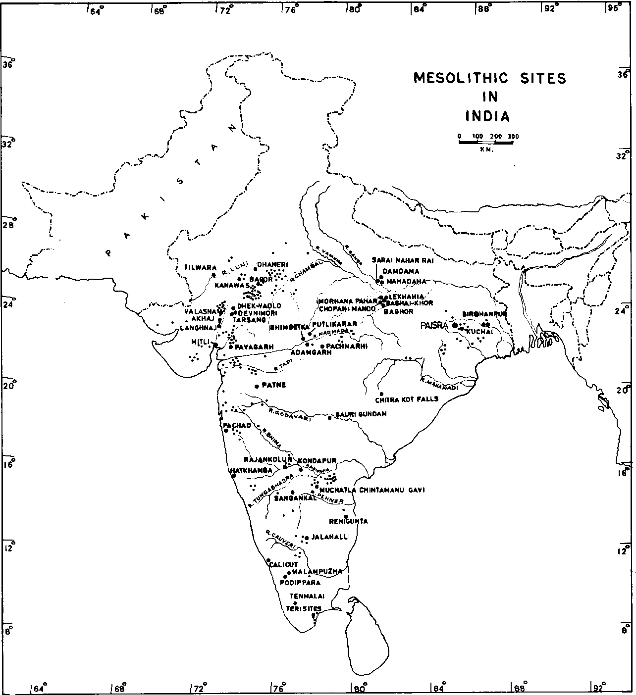 Figure 1 from Prehistoric human colonization of India