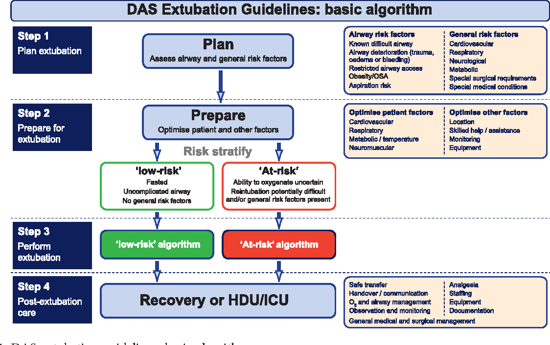 Figure 3 from Difficult Airway Society Guidelines for the management of tracheal extubation. - Semantic Scholar