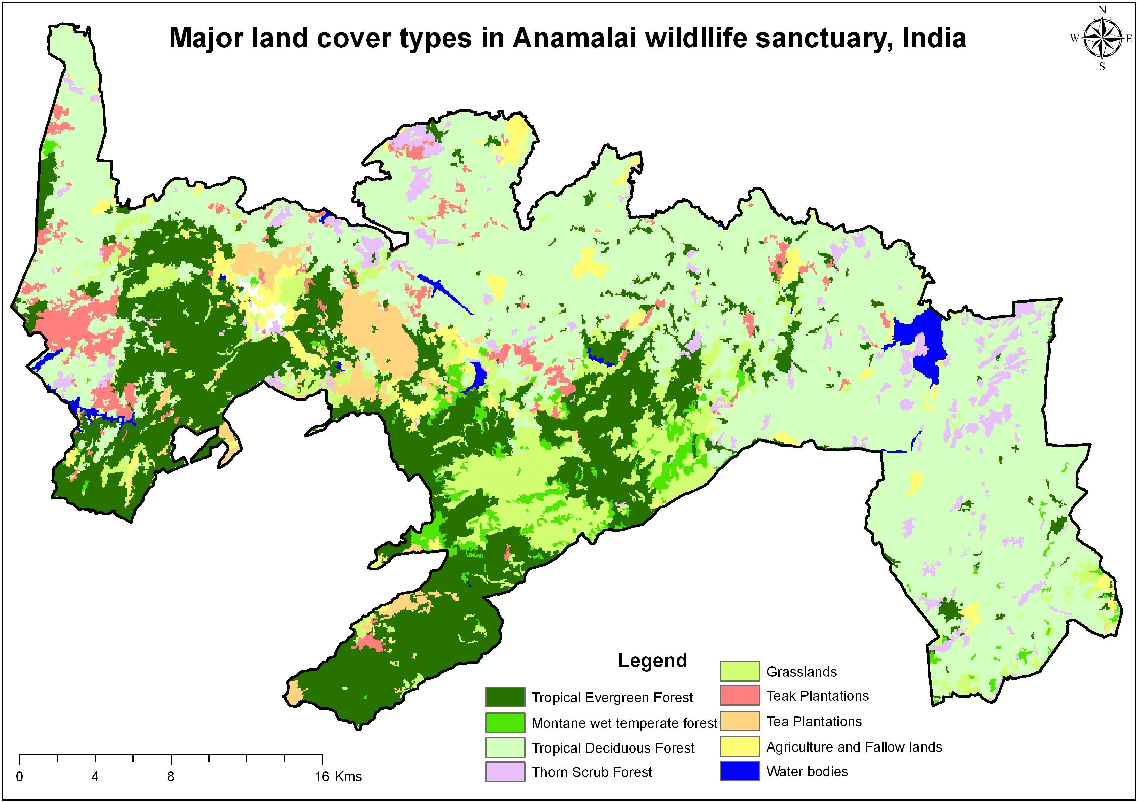 In india tropical evergreen forests occur in. Chapter 2 Land Cover Mapping And Phytodiversity Assessment 2 Semantic Scholar