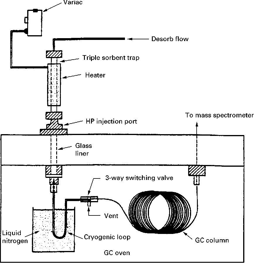 Schematic Diagram For Gas Chromatography
