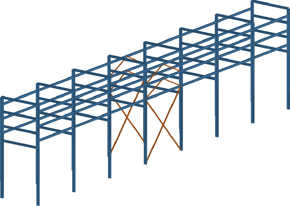 stability analysis of pipe racks for