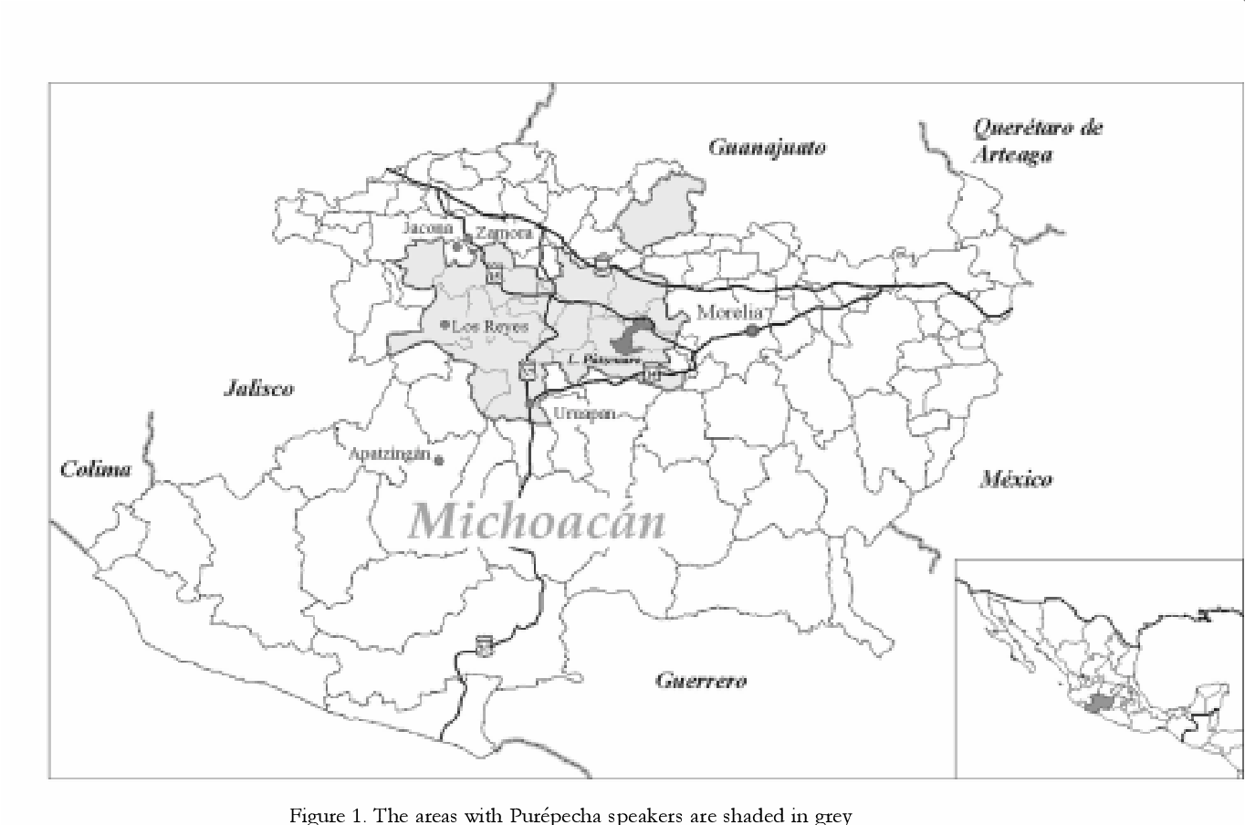 Demographic Changes in the Purepecha Region of Michoacan