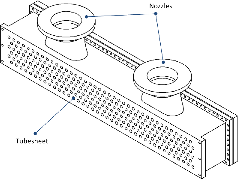 Evaluation and modification of air-cooled heat exchanger