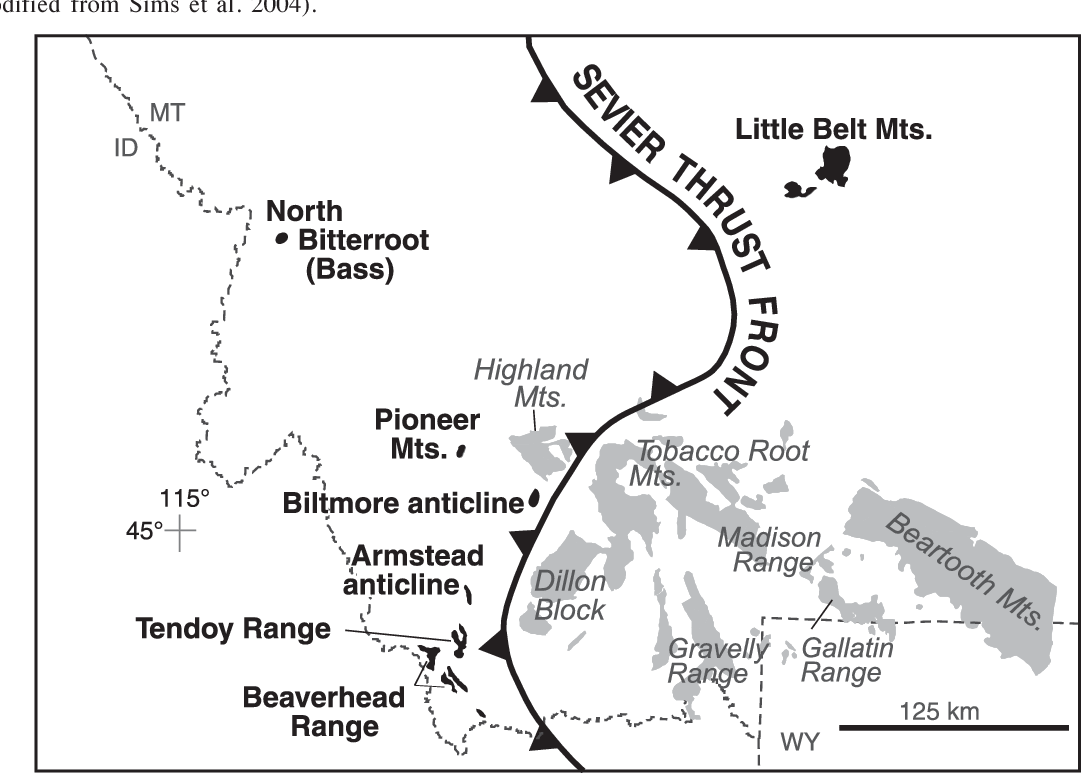 Figure 1 from Proterozoic evolution of the western margin
