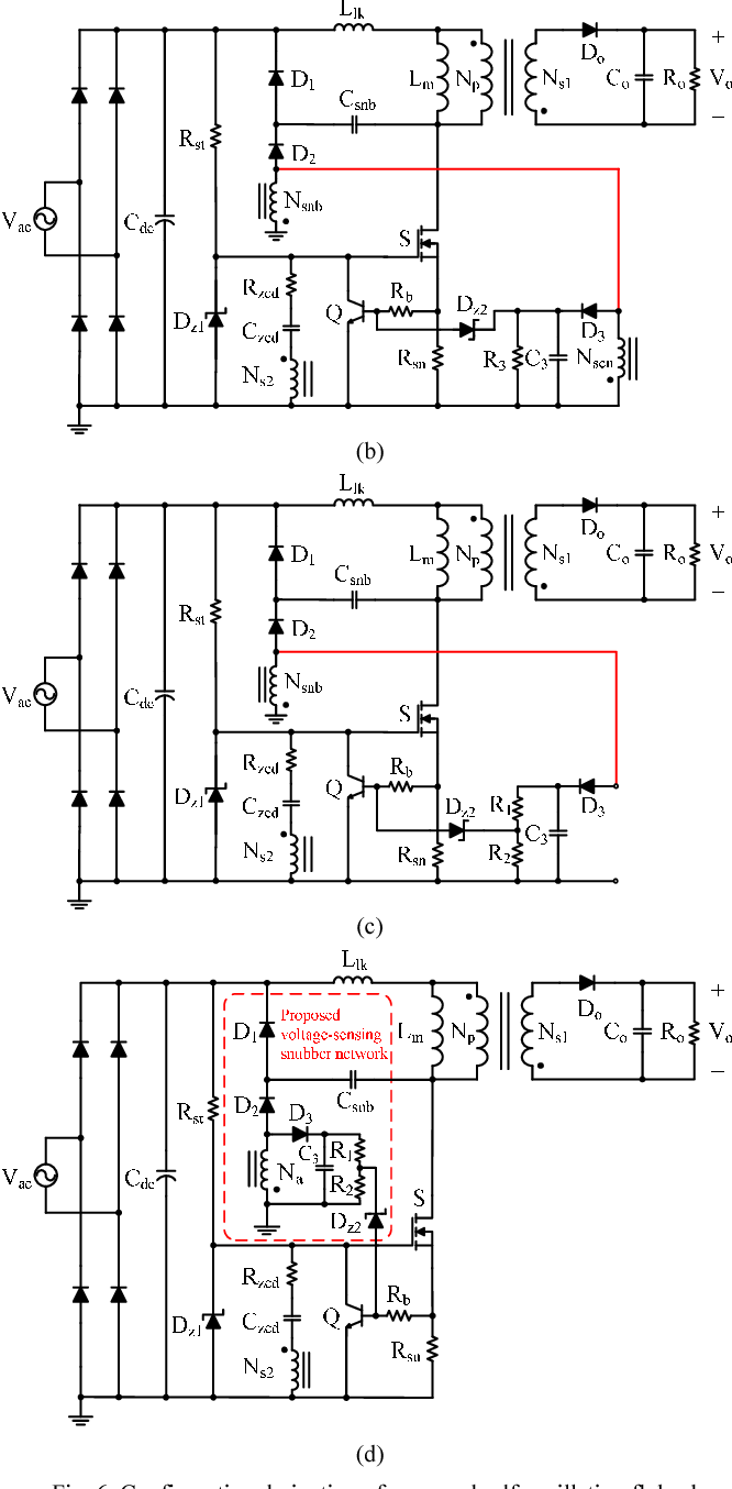 Figure 11 from Self-oscillation flyback converter with