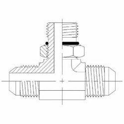 Hydraulic Fittings MJ-MJ-MAORB Branch Tee 6803-NWO Series