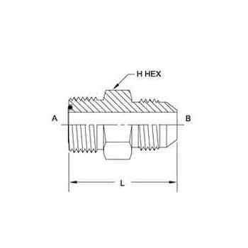 Hydraulic Fitting FS6403-16-16 16MFS-16MJ Straight