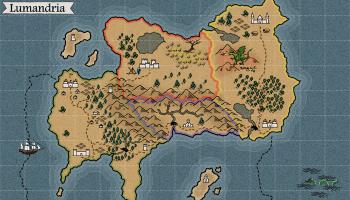 Blank Fantasy World Map Generator.Map Maker Generating A Fantasy World Atlas