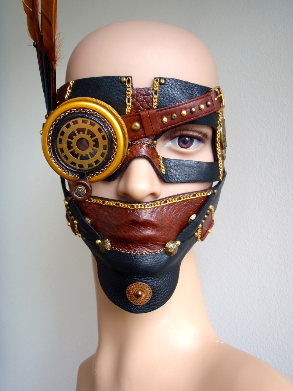 12 Masks of Halloween #12 Ste&unk Mad Max & 12 Masks of Halloween: #1 Horned Raven Mask