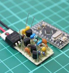 arduino pwm solar charge controller circuit [ 1024 x 768 Pixel ]