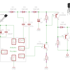 Pwm Solar Charge Controller Circuit Diagram Activity On Arrow Network Arduino Arduined Eu Schematic