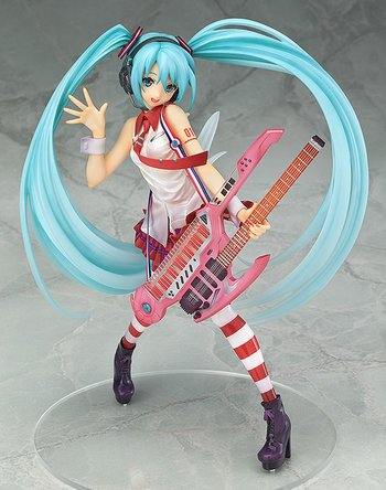 Character Vocal Series 01: Hatsune Miku Greatest Idol Ver. 1/8 Scale Figure 1