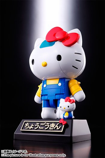 Chogokin Hello Kitty (Blue Ver.) 1
