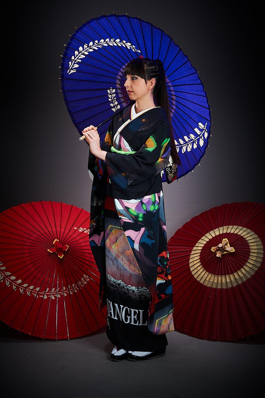 EVANGELION  Full Graphic Kimono Project  Tokyo Otaku