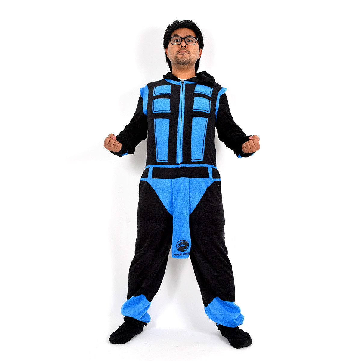 Mortal Kombat SubZero Full Body Union Suit Costume