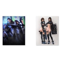 Gantz:O Chara Fine Canvas Board   Tokyo Otaku Mode Shop