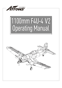 Arrows Hobby F4U Corsair PNP with Retracts (1100mm