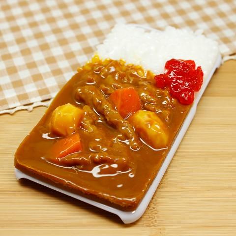 【VV限定】食品サンプル屋さんのスマホケース(iPhone6/6s:カレーライス)【atelier cook】