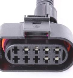 headlight wiring plug pigtail harness 99 05 vw jetta mk4 head light [ 1067 x 800 Pixel ]