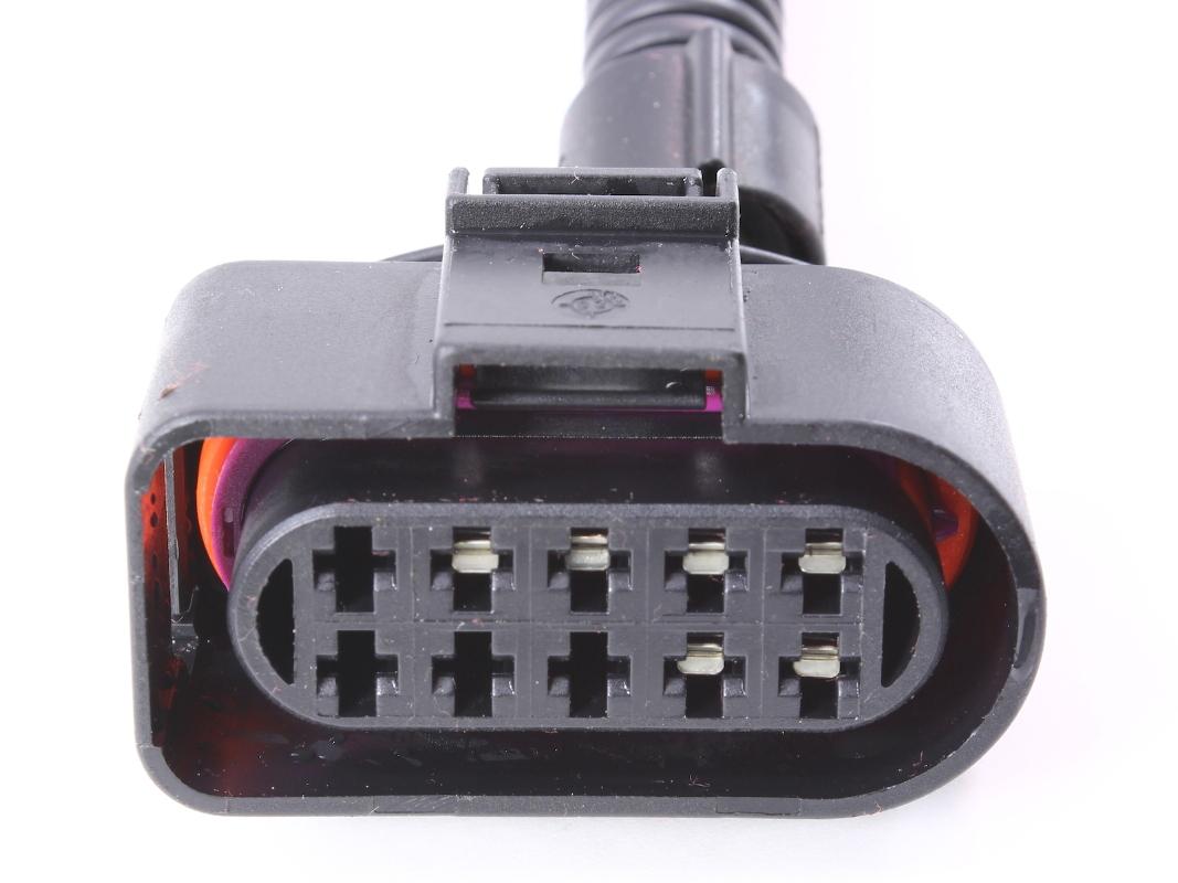 hight resolution of headlight wiring plug pigtail harness 99 05 vw jetta mk4 head light