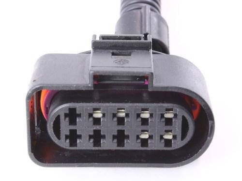 small resolution of headlight wiring plug pigtail harness 99 05 vw jetta mk4 head light