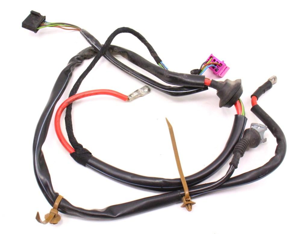 medium resolution of  cowl wiper motor power wiring harness 96 01 audi a4 b5 1 8t 8d1