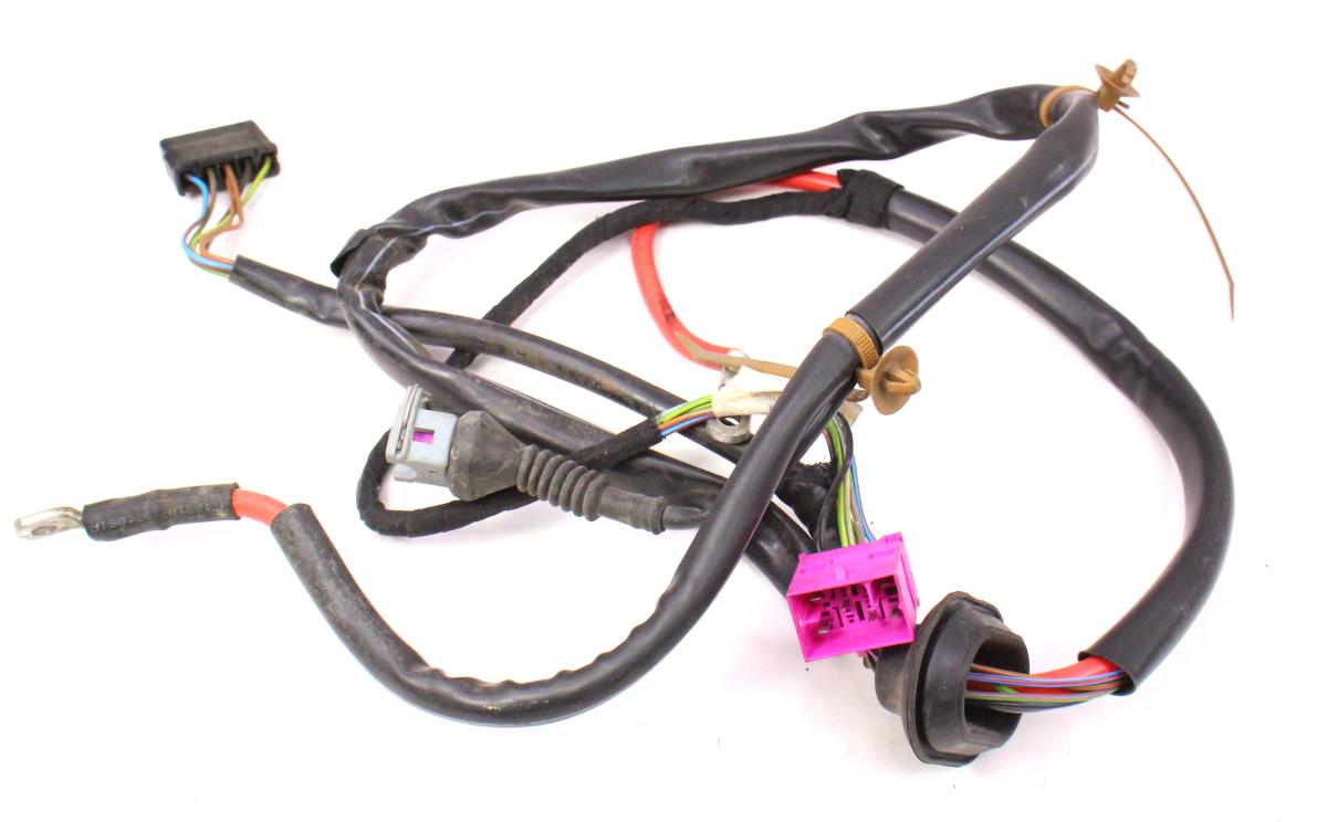 hight resolution of  cowl wiper motor power wiring harness 96 01 audi a4 b5 1 8t 8d1