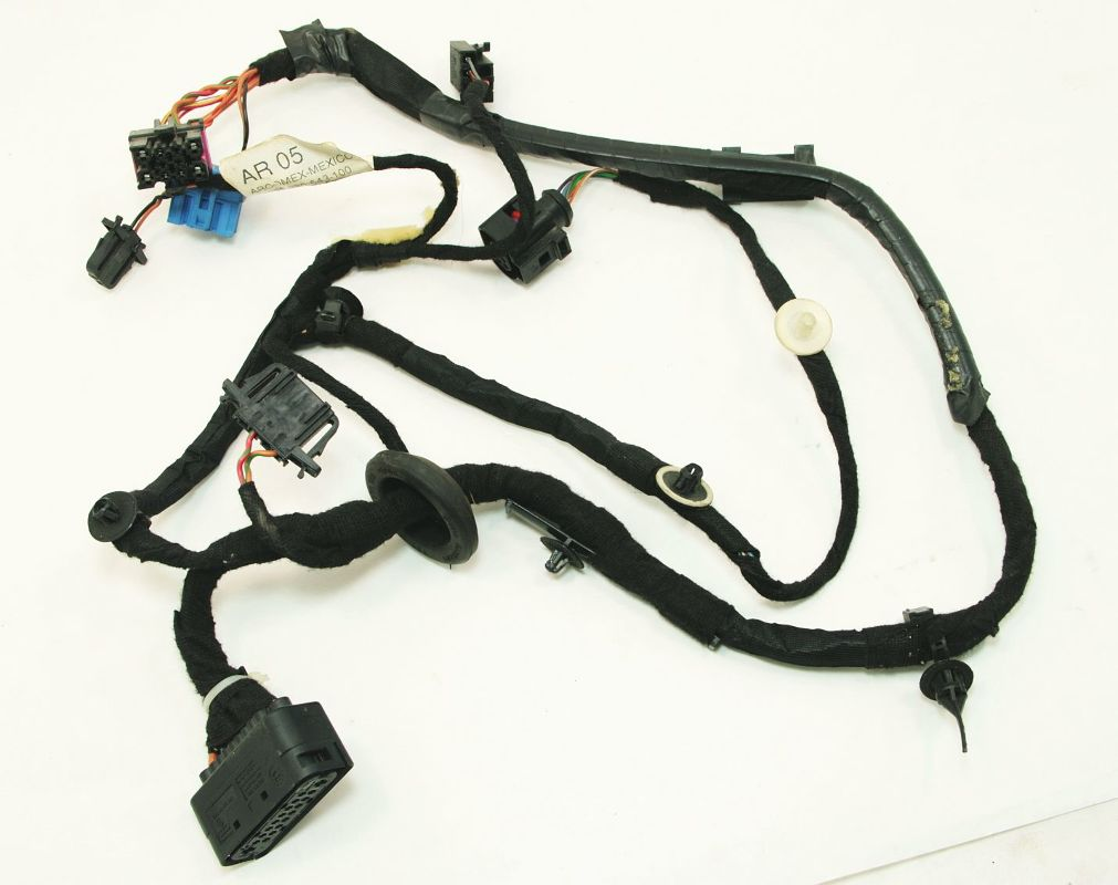 hight resolution of lh rear door wiring harness 99 05 vw jetta golf mk4 1j4 971 161