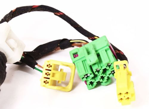 small resolution of lh front heated seat wiring plugs pigtail vw jetta golf gti mk4 beetle harness volkswagen seat wiring
