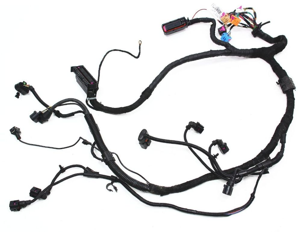 medium resolution of ecu engine bay wiring harness vw beetle 1 9 tdi genuine oe 1c1 971 088 am