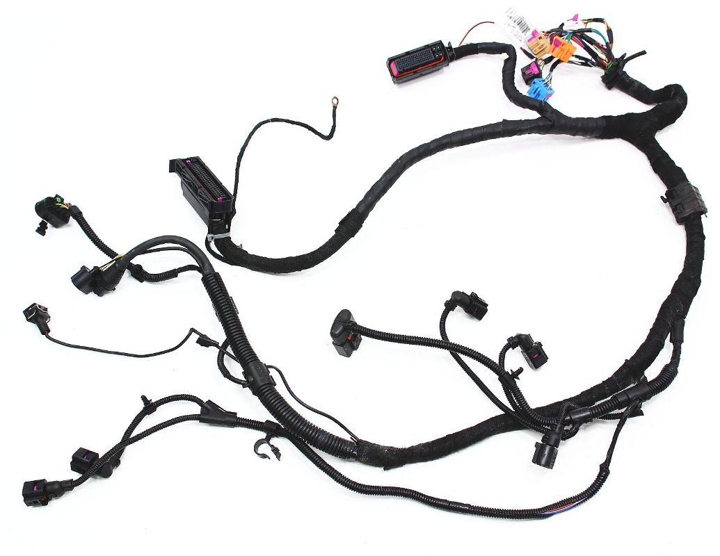hight resolution of ecu engine bay wiring harness vw beetle 1 9 tdi genuine oe 1c1 971 088 am