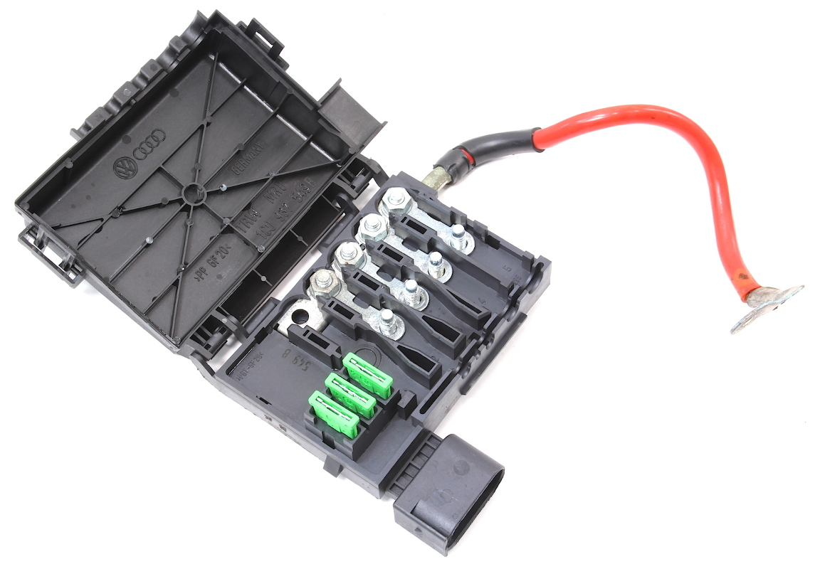 hight resolution of  battery distribution fuse box vw jetta golf gti beetle mk4 1c0 937 549 b