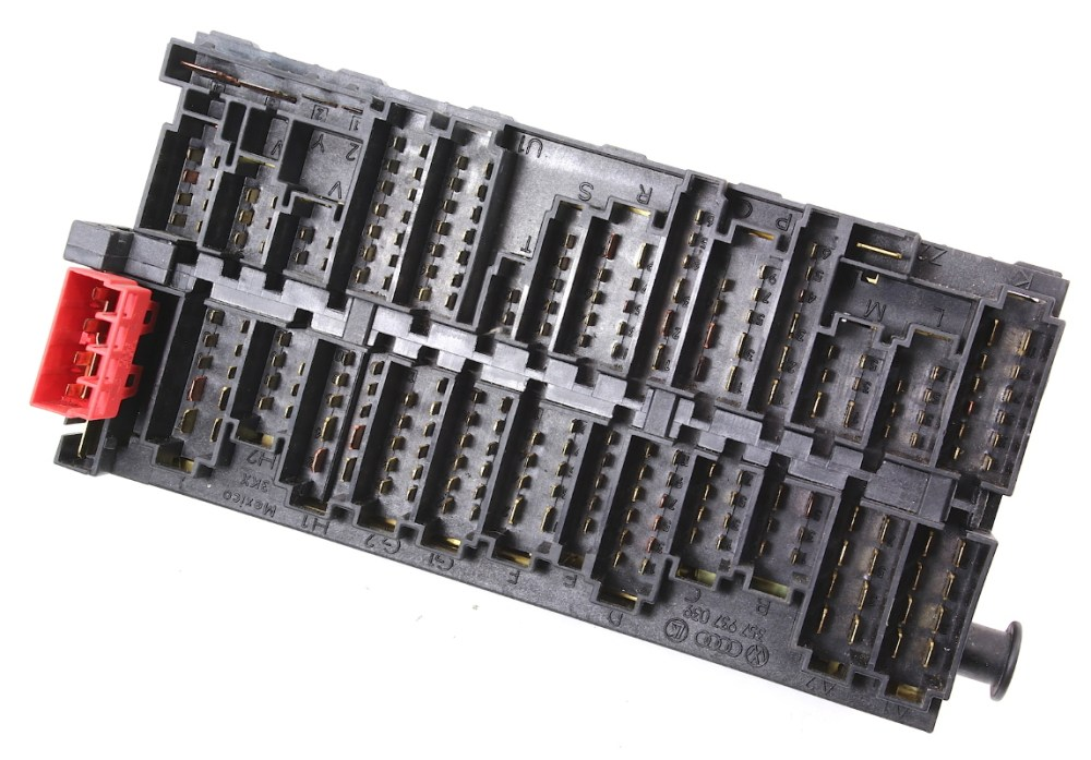 medium resolution of  relay board fuse box panel block ce2 vw jetta golf mk3 passat b4 357 937