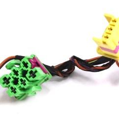 rh front heated seat wiring plugs pigtail vw jetta golf gti mk4 beetle [ 1200 x 768 Pixel ]