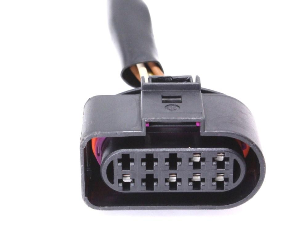 medium resolution of headlight head lamp wiring pigtail plug 01 05 vw passat connector rh carparts4sale com vw beetle wiring connectors 65 vw wiring diagram