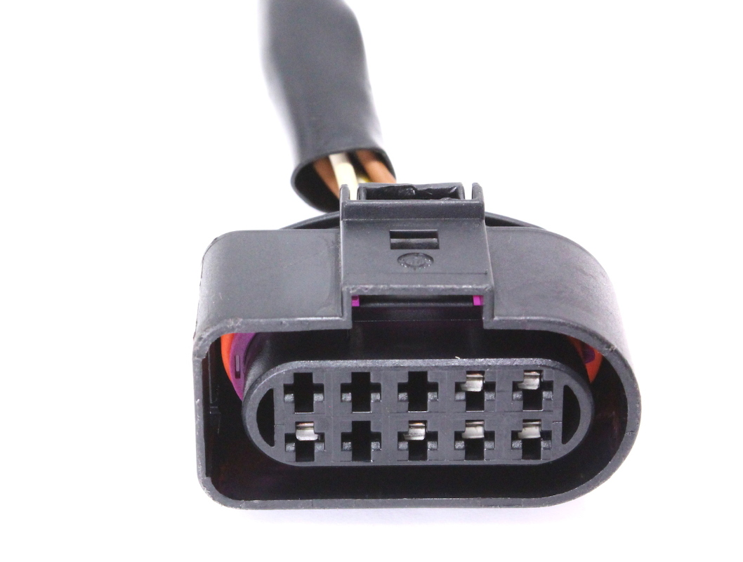 hight resolution of  headlight head lamp wiring pigtail plug 01 05 vw passat connector 1j0 973 735