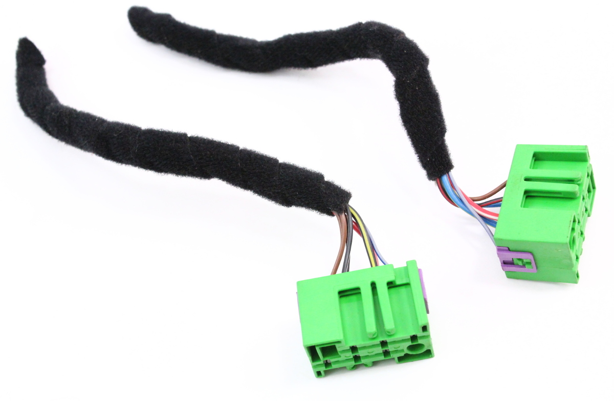 hight resolution of heated seats switch pigtails plugs connectors 98 05 vw passat aud a4 heated seat harness connector
