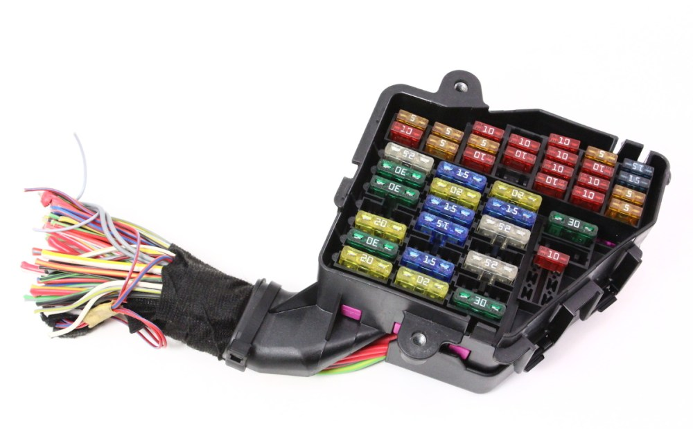 medium resolution of dash fuse box panel wiring harness pigtail 02 04 audi a6 3 0 genuine carparts4sale inc