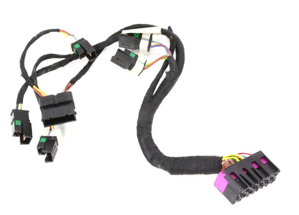 medium resolution of lh front power sport seat base wiring harness audi s4 00 02 b5 genuine