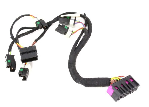 small resolution of lh front power sport seat base wiring harness audi s4 00 02 b5 genuine