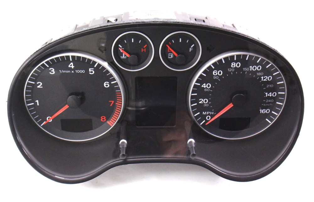 medium resolution of instrument gauge cluster 06 08 audi a3 parts only as is 8p0