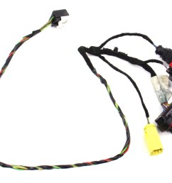 rh seat wiring harness 06 08 audi a3 8p manual genuine [ 1043 x 800 Pixel ]