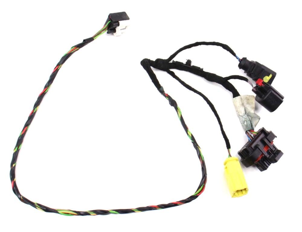 medium resolution of rh seat wiring harness 06 08 audi a3 8p manual genuine