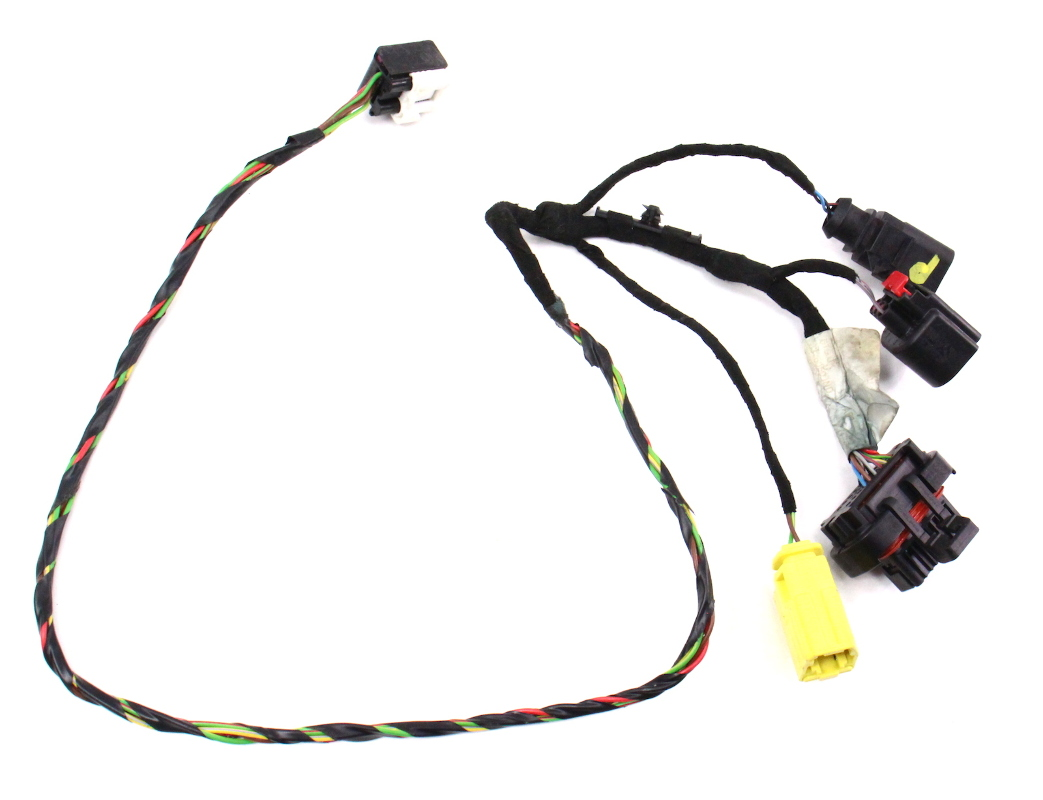 hight resolution of rh seat wiring harness 06 08 audi a3 8p manual genuine