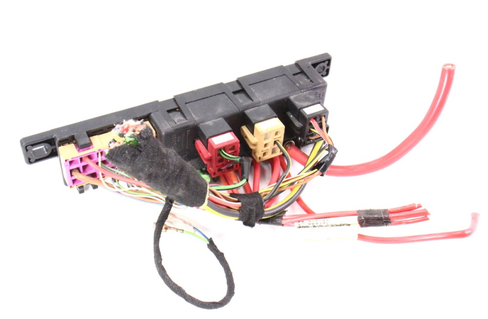 medium resolution of  dash relay block panel box wiring pigtail 98 04 audi a6 c5 8l0