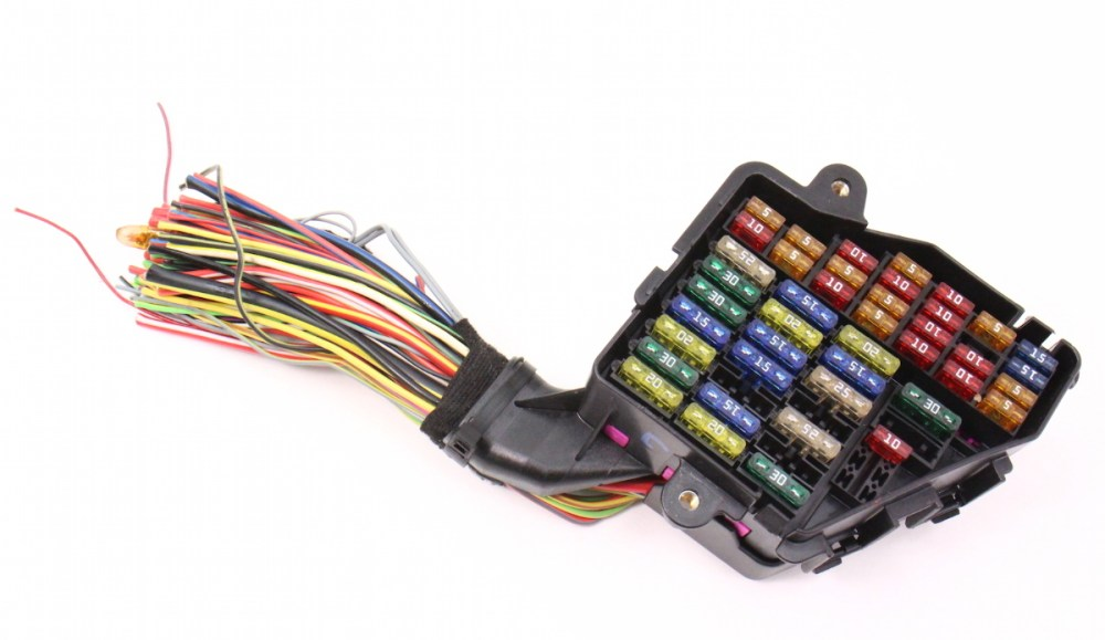medium resolution of dash fuse box panel wiring harness pigtail 02 04 audi a6 s6 4 2