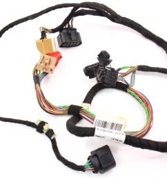 lh driver front door panel wiring harness 98 01 audi a6 c5 4b0 971 [ 1109 x 800 Pixel ]